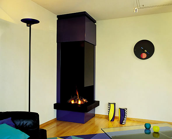 Corner Fireplace for Your Small Apartment | Home Interior Designs ...
