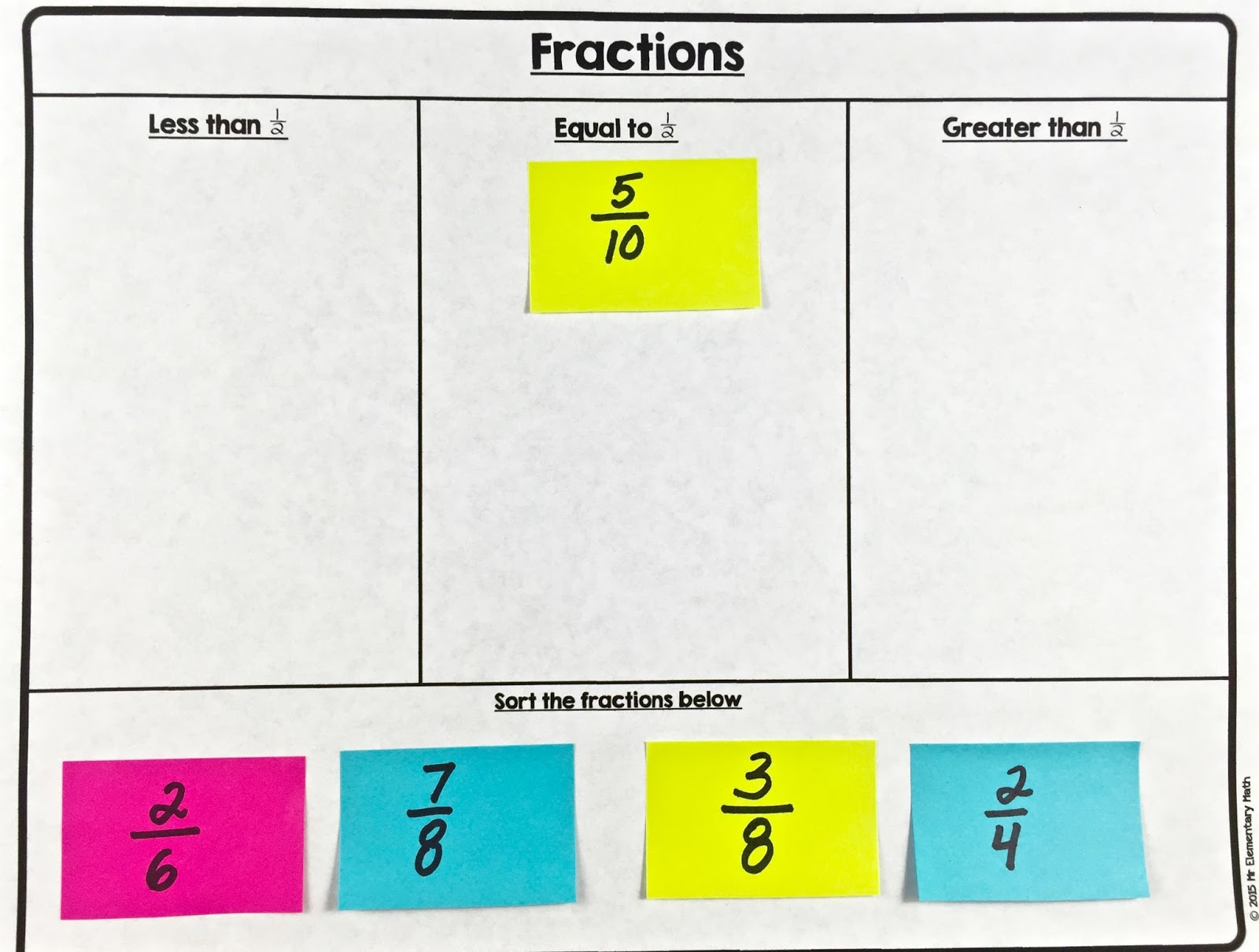 Benchmark Fractions Worksheet 4th Grade fraction – Benchmark Fractions Worksheet