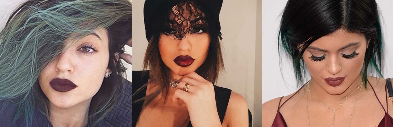 kylie jenner dark lips