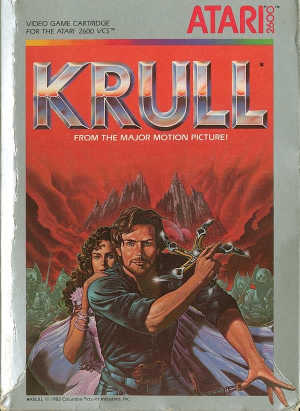 ATARI 2600 : Les boites/artworks allucinants   - Page 4 Krull+(1983)+Atari+Video+Game