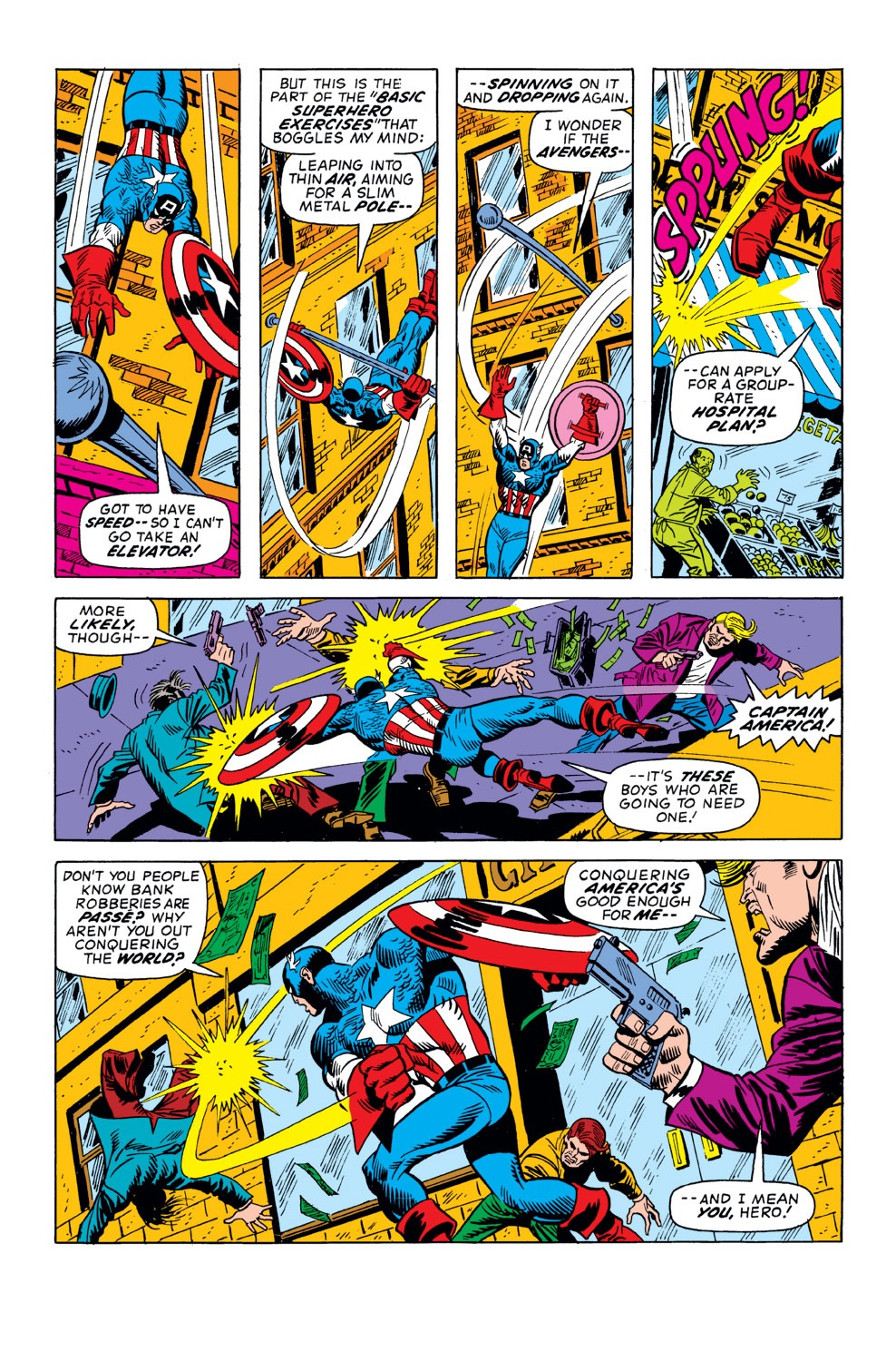 Captain America (1968) Issue #158 #72 - English 12