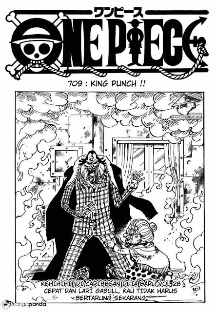 """Download Komik One Piece Chapter 709 """"King Punch"""" Bahasa Indonesia"""