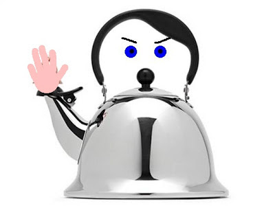 Modified Hitler Kettle - also not available at JC Penney