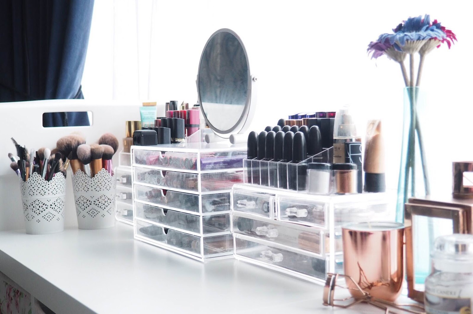 Cheap And Affordable Makeup Storage Solutions Laura