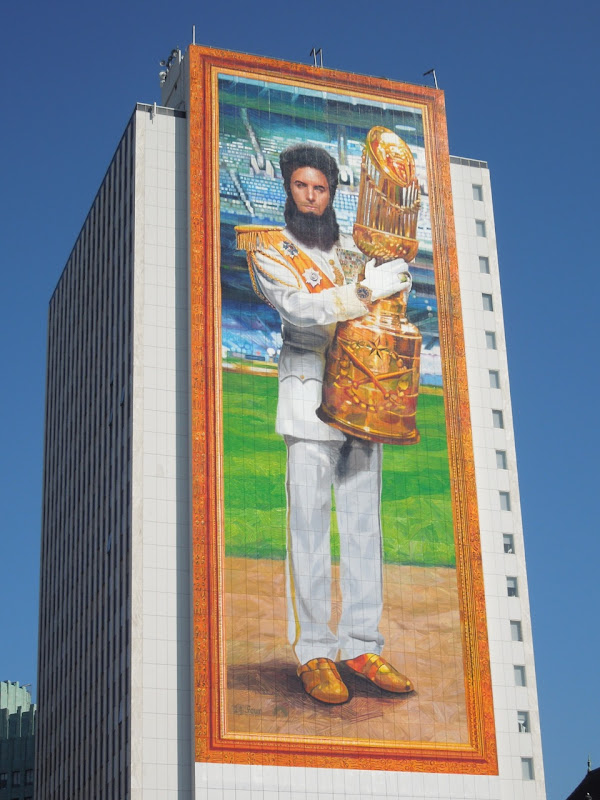 The Dictator billboard Wilshire Blvd