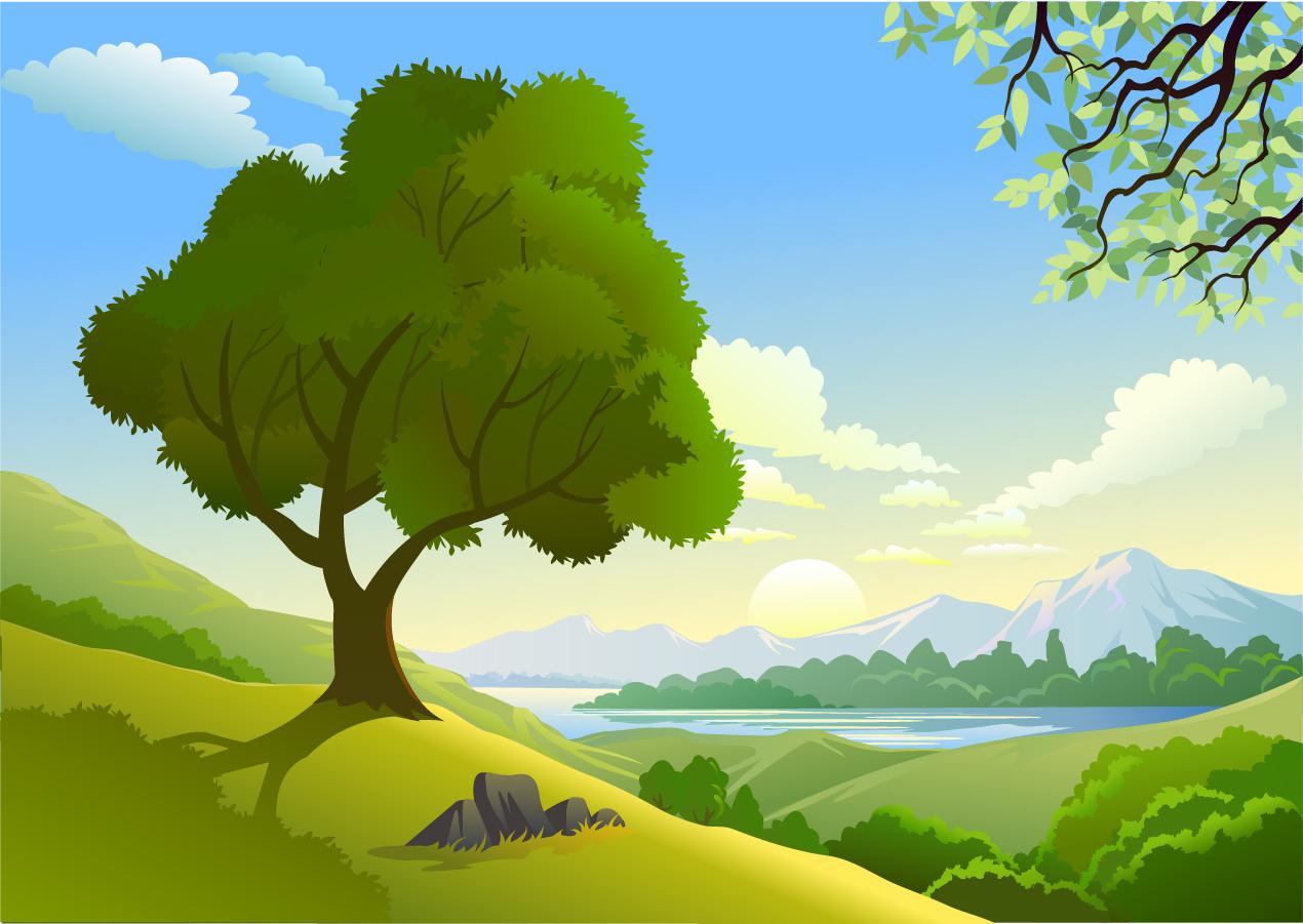 Beautiful nature mountains landscape ai - Come disegnare un cartone animato di gufo ...