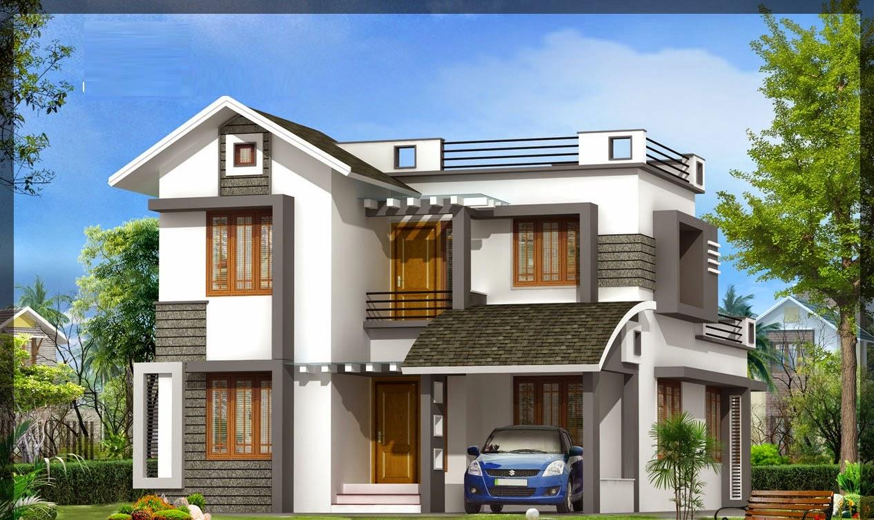 Villa house designs plans