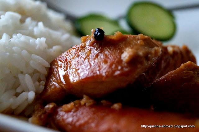 kurczak, filipiny, kurczak w sosie octowym