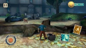 The Adventures of TinTin HD Symbian Game