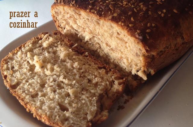 prazer a cozinhar - pão de noz