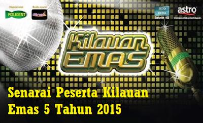 Konsert Akhir Kilauan Emas 5 Rabu 27 Mei 2015