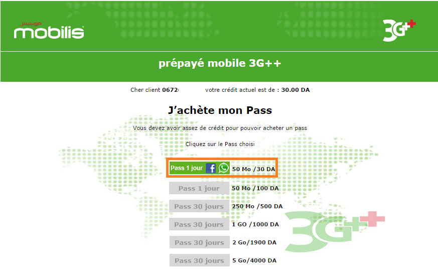 إستفد من أنترنت موبيليس 3G غير محدودة بدون بروكسي و لابرامج