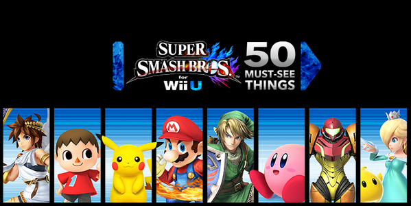 50 Must See Things in Super Smash Bros. for Wii U
