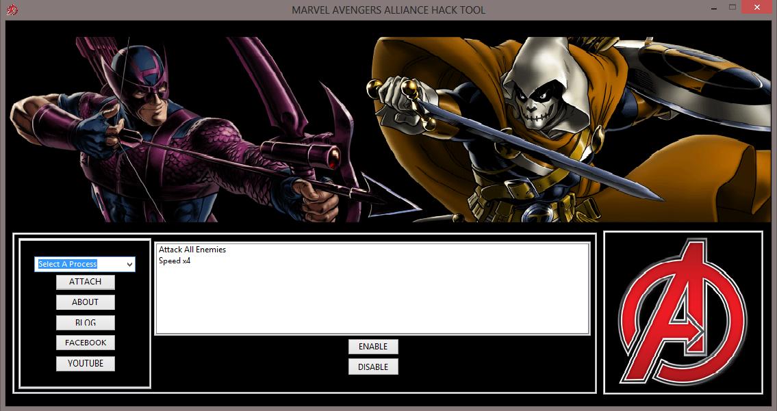 maa Marvel Avengers Alliance Hileleri Multihack Tool V1.2 Oyun Botu indir