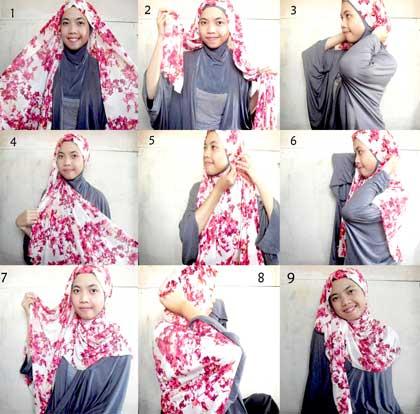 Cara Memakai Jilbab Pashmina Simple Saat Ke Kampus