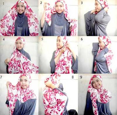 Cara Memakai Jilbab Pashmina Simple Buat Kuliah