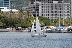 take a little sail around Waikiki