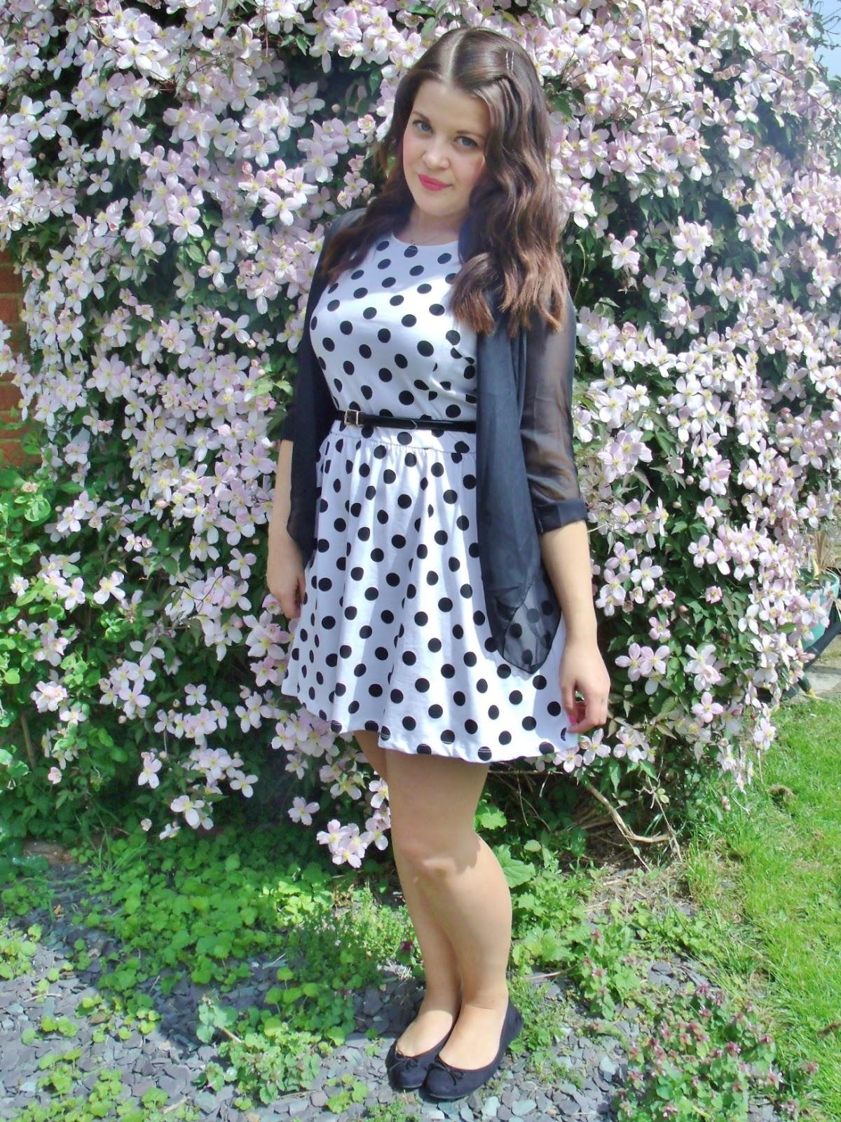 The Kate Middleton Polka Dot Dress Dupe