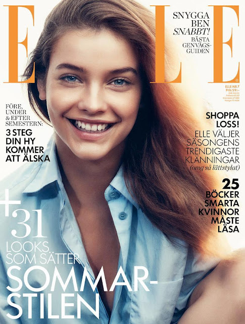 Fashion Model, Actress @ Barbara Palvin for Elle Sweden, July 2015