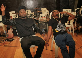 Photos: Olamide, Ice Prince, Chopstix During FOZ Rehearsals