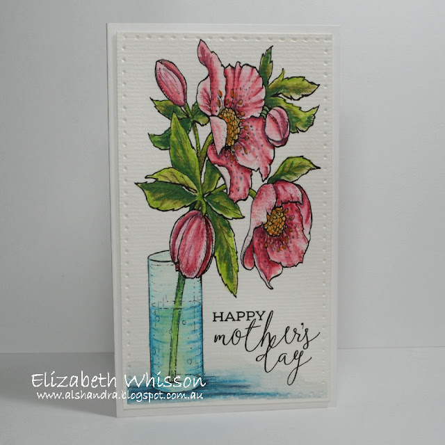 Elizabeth Whisson, Power Poppy, Hellebores, watercolour, Alshandra, Mother's Day