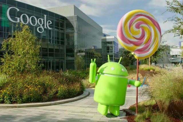 OS Terbaru Dari Android (5.0 Lollipop)