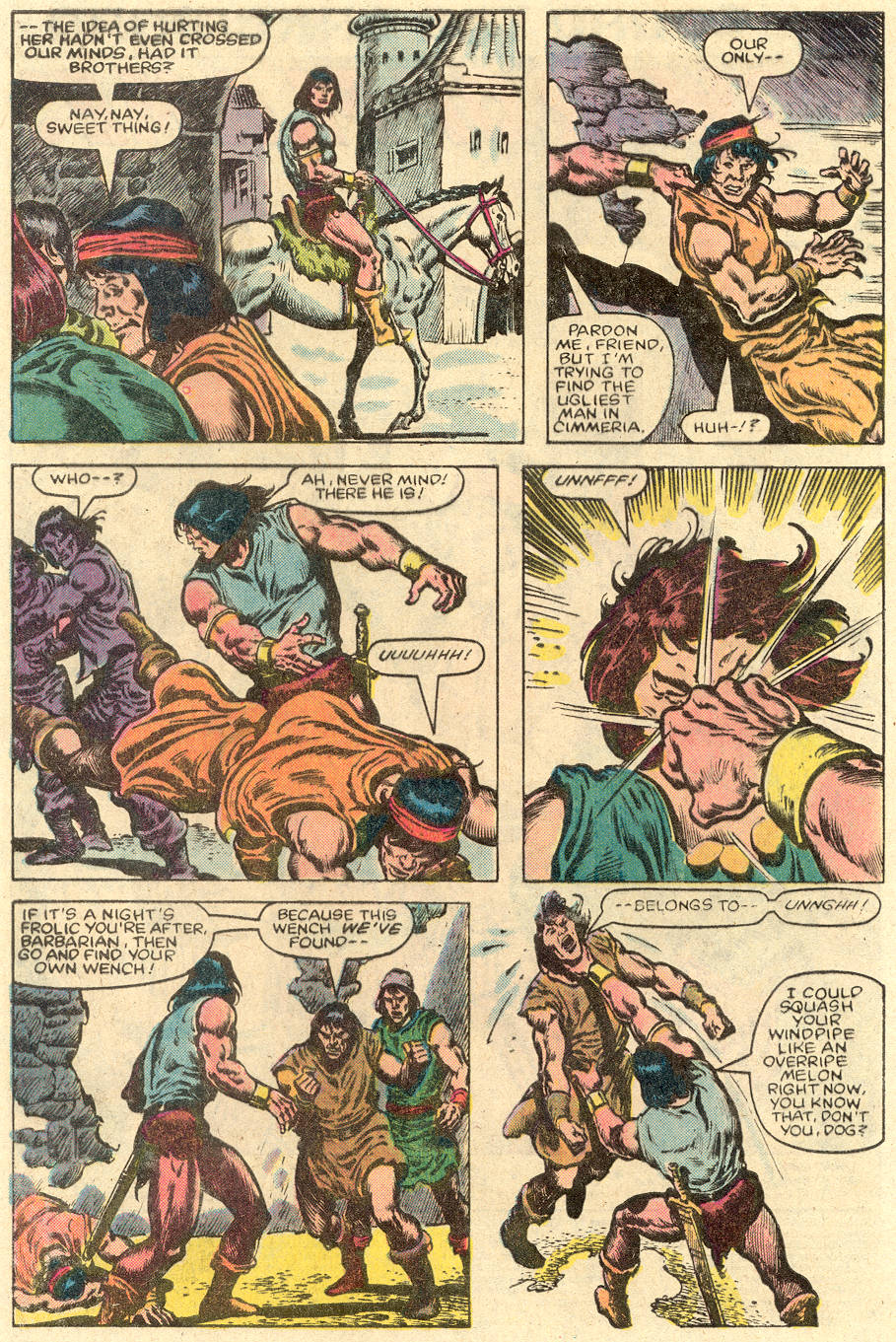 Conan the Barbarian (1970) Issue #150 #162 - English 3