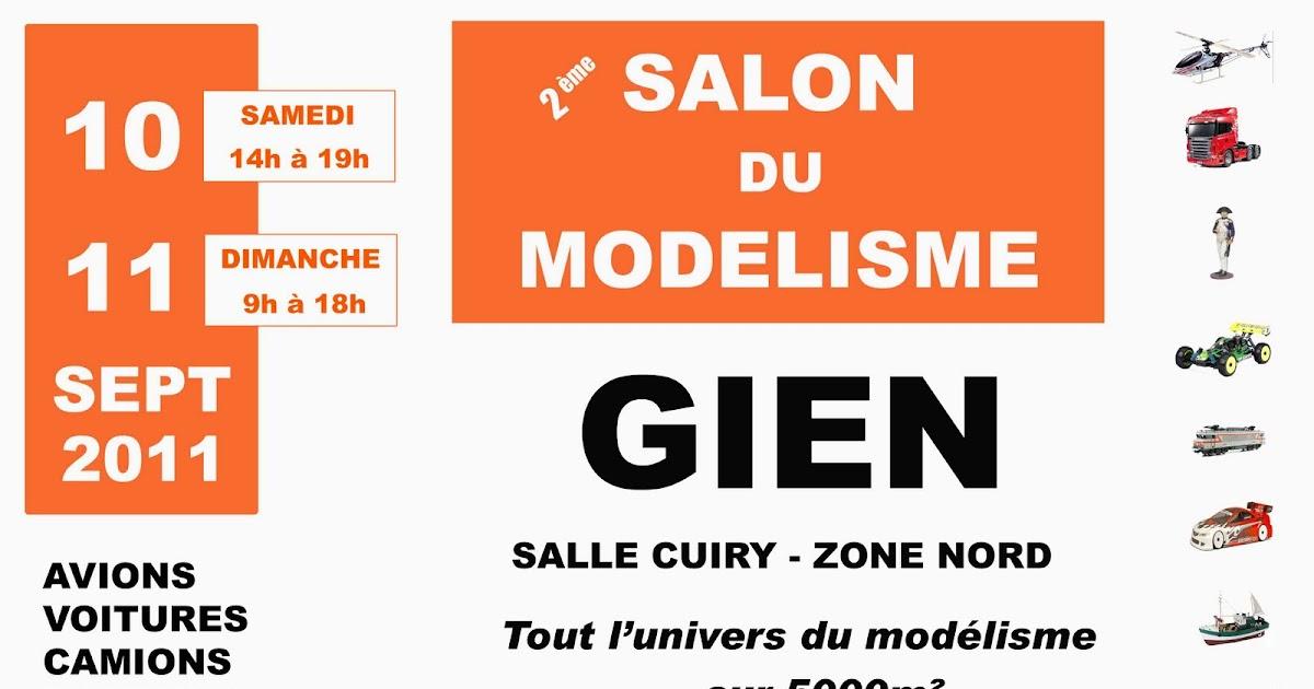 Burguscircus salon du mod lisme gien for Salon du modelisme