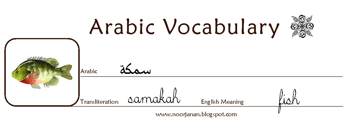 How to write arabic in english words