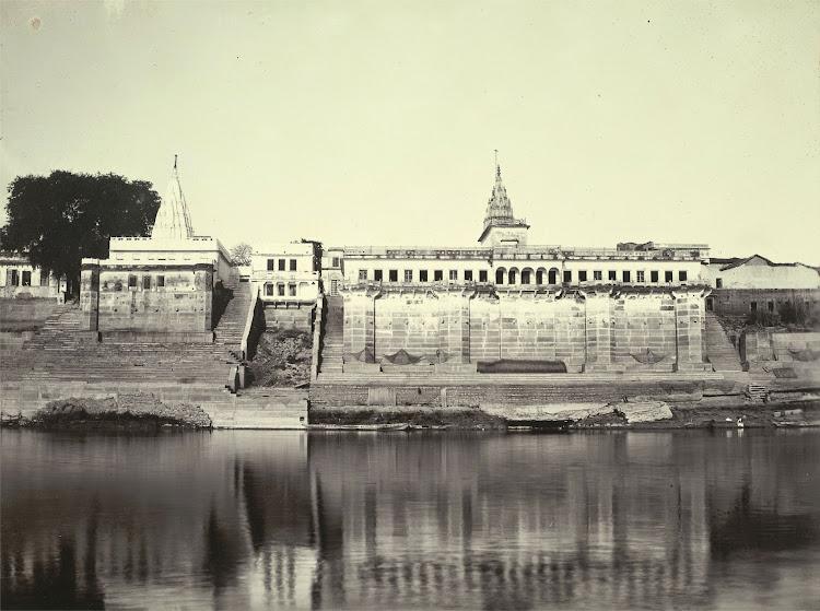Batsaraj Ghat - Benares (Varanasi) 1905