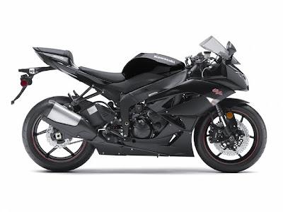2011 Kawasaki Ninja ZX-6R Black Series