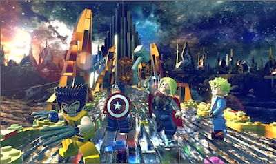 LEGO Marvel Super Heroes Game                Play