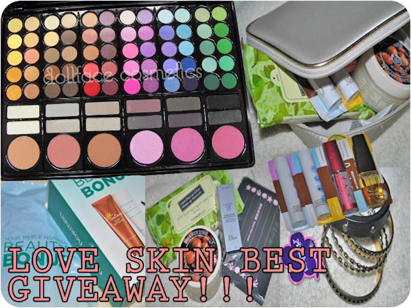 LOVE SKIN BEST 100 FOLLOWERS & BIRTHDAY GIVEAWAY!