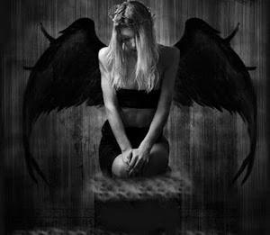 Angel en la espera.