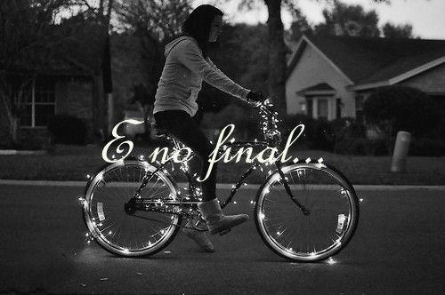 E no final...