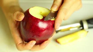 Manzanas Horneadas con Merengue