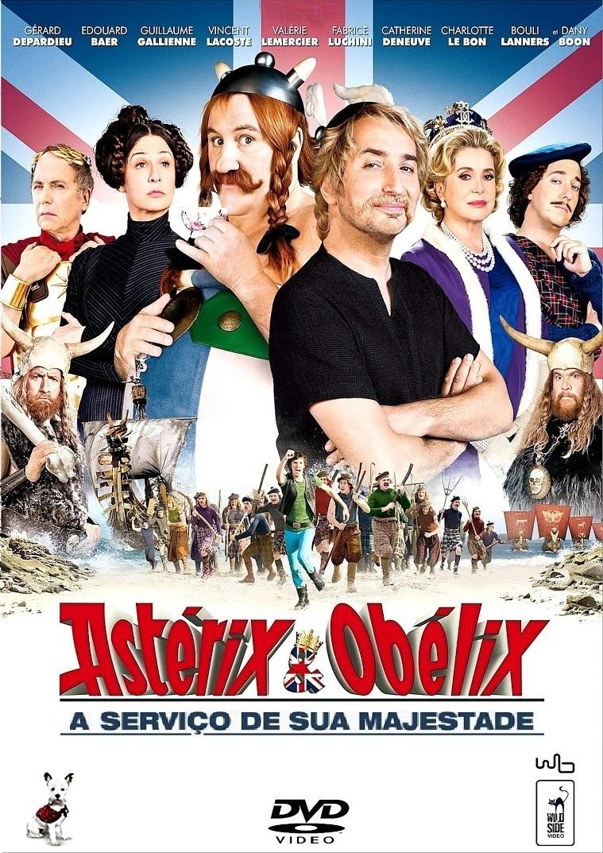 Asterix e Obelix: A Serviço de sua Majestade – Dublado (2012)