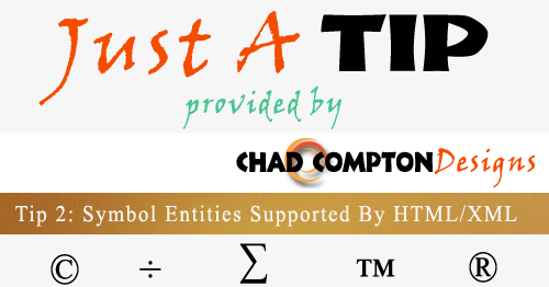 Wanderlust Coder Symbol Entities Supported By Htmlxml