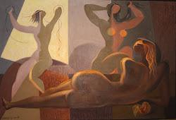 Tres Mujeres y Una Manzana, 1986