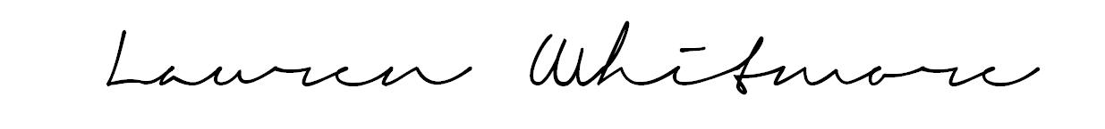 LMWHITMORE │ By Lauren Whitmore