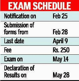 TEAMCET 2015 important Exam dates, download hall tickets, results