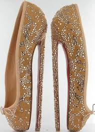 Louboutin six-inch high heels