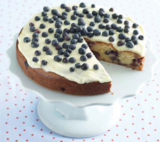 Blueberry-and-Sour-Cream-Cake-Recipe
