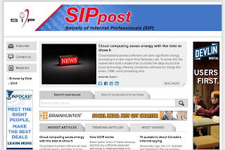 Society of Internet Professionals New SIP Post, screenshot by sipgroup.blogspot.com