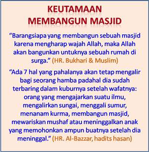 Wakaf Tanah Pembangunan Masjid