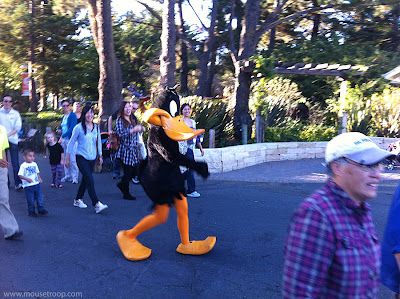 Daffy Duck costume looney Six Flags Discovery Kingdom