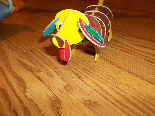 Imagine I Can Create & Color Puppy