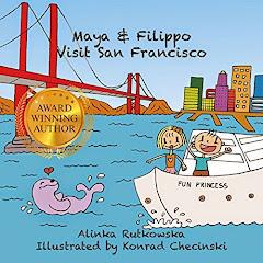 Maya and Filippo Visit San Francisco - 5 April