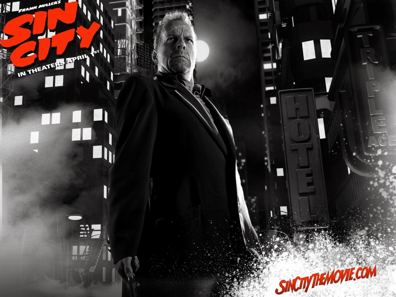 sin city - bruce willis