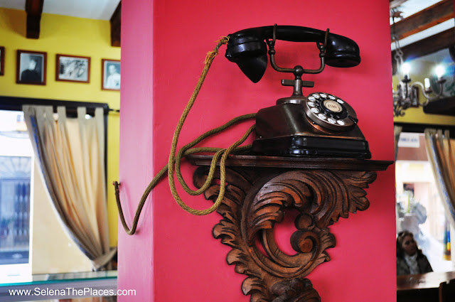 Telephone in Ronda, Spain
